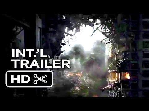 Godzilla Official International Trailer #2 (2014) - Aaron Taylor-Johnson, Elizabeth Olsen Movie HD