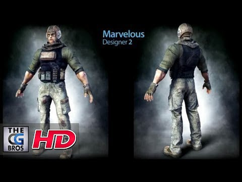 CGI 3D Clothes Making Demo HD: Using