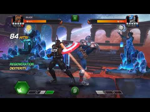 R5/65 5* Blade vs Civil Warrior (LOL) Easy path Gameplay MCOC