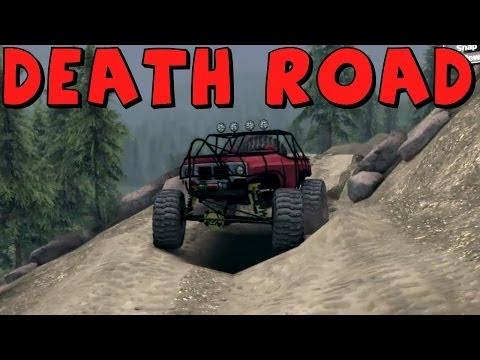 Spin Tires | K5 Blazer Rock Crawler vs The Death Road!
