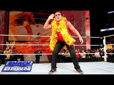 Hulk Hogan returns to SmackDown on The Road to WrestleMania: SmackDown, April 4, 2014