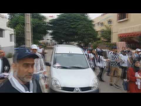 الحملة الا نتخابية في حي الباطوار بمشاركة وكيل الائحة