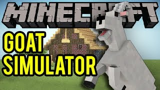 GOAT SIMULATOR IN MINECRAFT! (Minecraft Server Spotlight