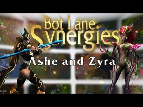Ashe and Zyra Bot Lane Synergy | League of Legends