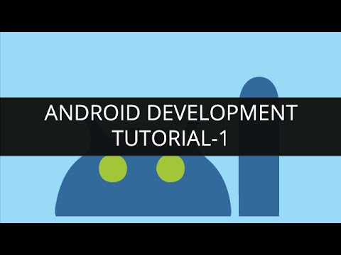 Android Development Tutorial: Android Basics| Android for Beginners| Android App Development Course - YouTube