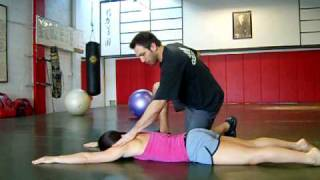 "The Prone ""Y"" Corrective Exercise"
