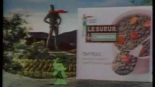 Jolly Green Giant 1975 TV Commercial