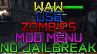 How To Get A WAW Zombies Mod Menu! NO JAILBREAK USB