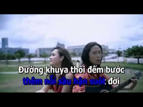 Bài Ca Kỉ Niệm karaoke -  song ca với Phong Ba Tình Đời