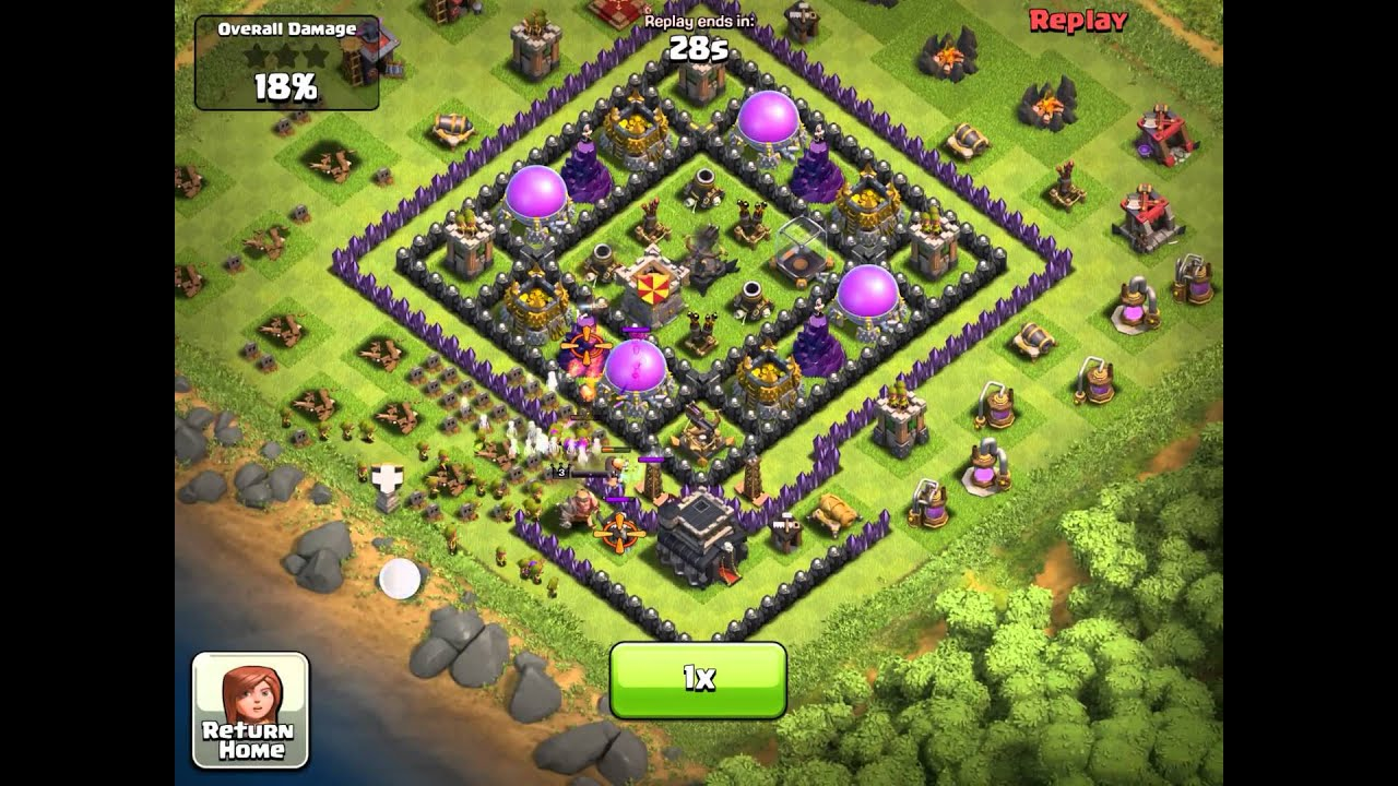 Clash of Clans Town Hall 9 Farming