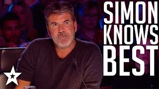 Top 10 Simon Cowell's I Know Best Moments on Got Talent Global