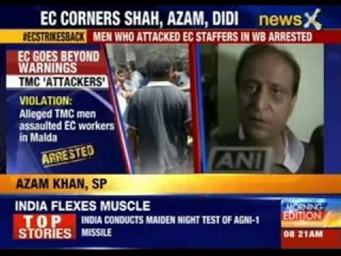 EC gags 'revenge hunters' Amit Shah and Azam Khan