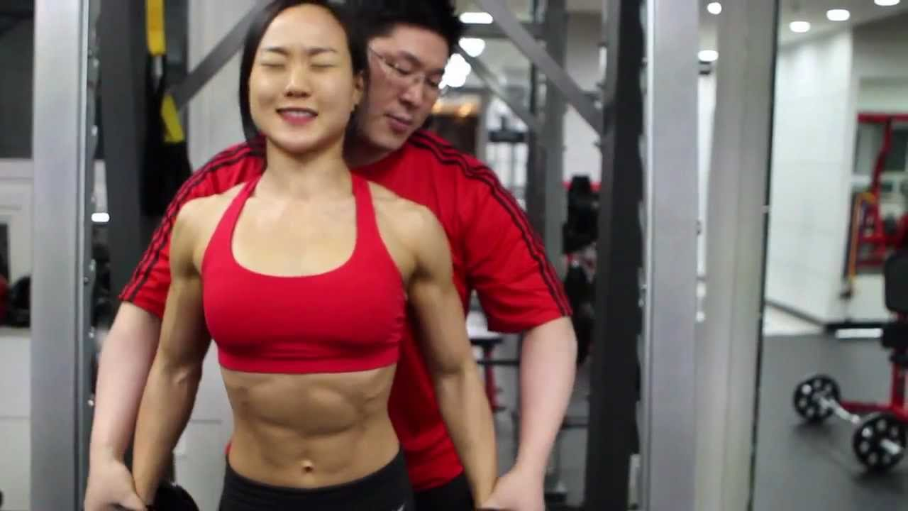 ASIAN GIRL Fitness Lee Jin Won INTERVIEW - YouTube