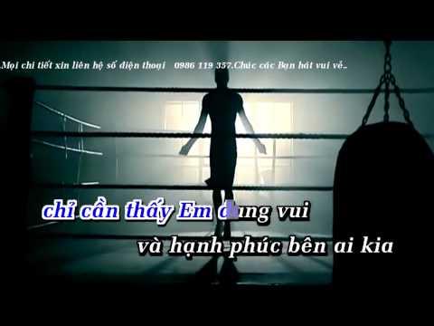 [ Karaoke HD ] Hạnh Phúc Trong Anh Là Em Remix