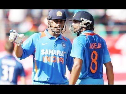 India vs New Zealand 4th ODI 'live' cricket score: Dhoni and Jadeja lift India to 278-5