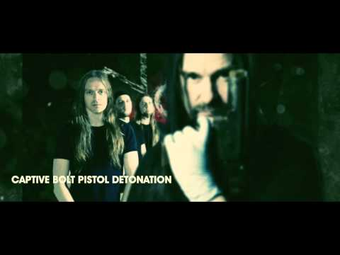 CARCASS - Captive Bolt Pistol (OFFICIAL LYRIC VIDEO) online metal music video by CARCASS