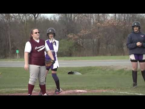 NCCS - Ticonderoga JV Softball 4-30-12