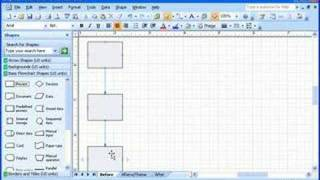 Visio 2007 Demo: Build A Flowchart Quickly With