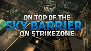 COD Ghosts Glitches On Top Of The Sky Barrier & Out Of