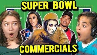 Generations React to Super Bowl Commercials 2019