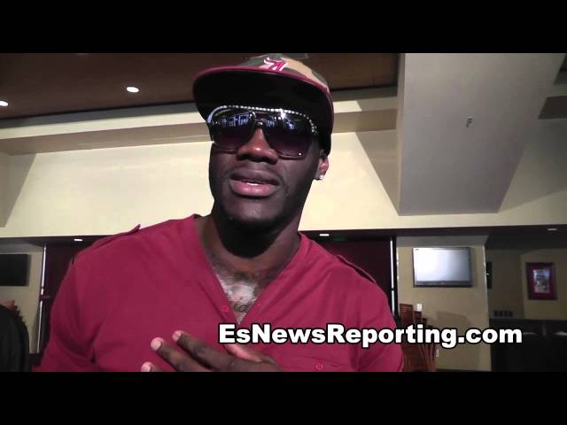 deontay wilder on his sparring with charlie z in LA - EsNews Boxing