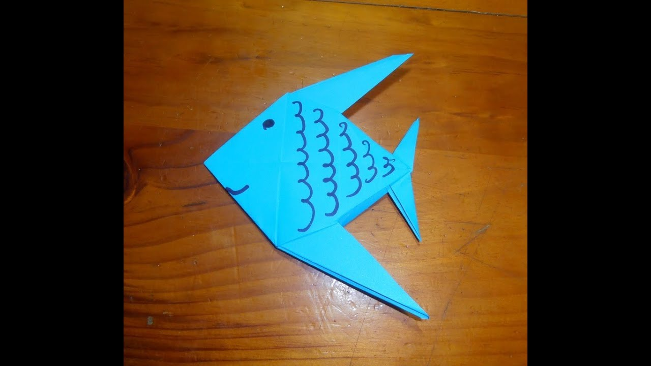 origami pez youtube
