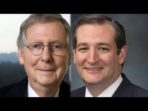 Ted Cruz vs Mitch McConnell-- The GOP's Future?