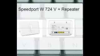 [Tutorial] Speedport W 724 V & Repeater