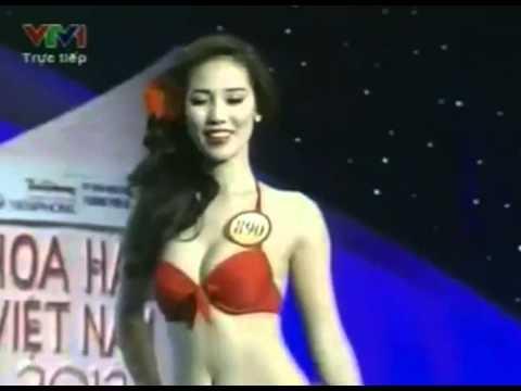 Hoa hau Viet Nam 2012 Tinh dien ao tam - YouTube
