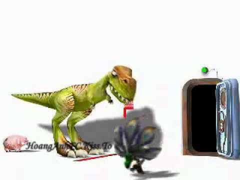 Phim hoạt hình Khủng Long và heo con. flv   YouTube