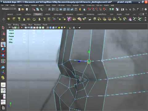 Maya 2011-Human Head Modeling-05