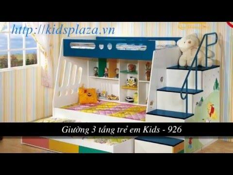 Giường tầng trẻ em - Các mẫu giường tầng trẻ em bé HOT nhất năm 2013