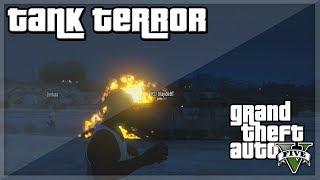 """GTA V - """"JJ's Tank Terror!'' w/ JME, Behzinga, Miniminter, Vikkstar, Zerkaa & KSI"""