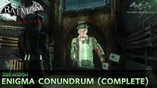 Batman: Arkham City Enigma Conundrum (The Riddler