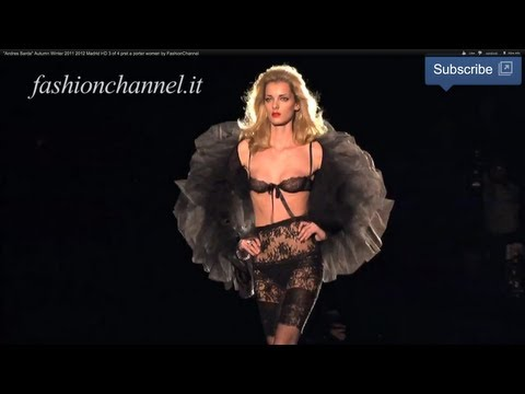 """Andres Sarda"" Autumn Winter 2011 2012 Madrid HD 3 of 4 pret a porter women by FashionChannel"