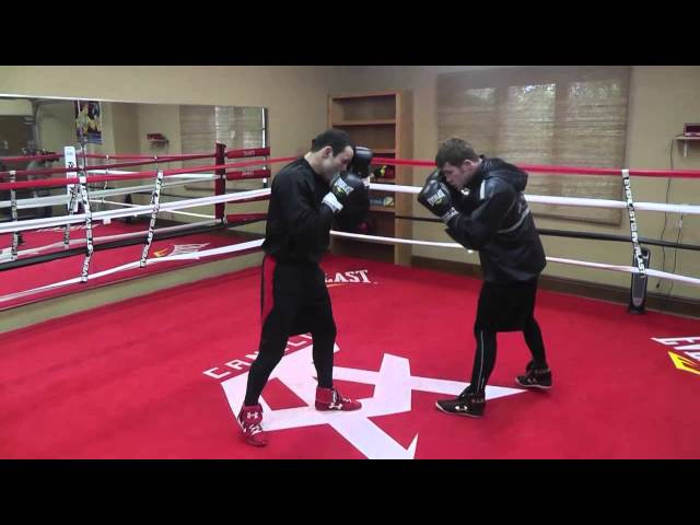 "CANELO VS PERRO Saul ""Canelo"" Alvarez Training For Alfredo Angulo"