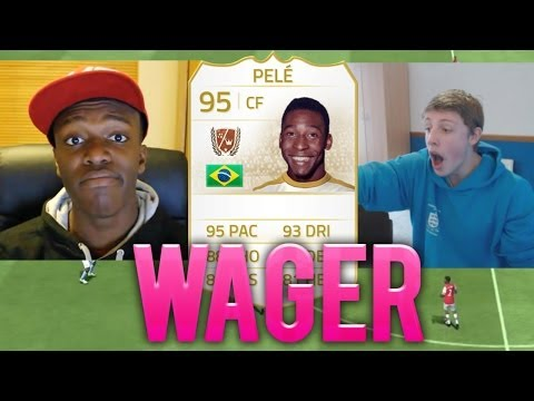 PELE LEGEND WAGER vs KSI - FIFA 14 Next Gen Ultimate Team
