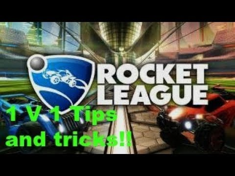 Rocket league! How to improve your 1 V 1 Rank!! Tips and tricks!! Opponent Forfeits!!!
