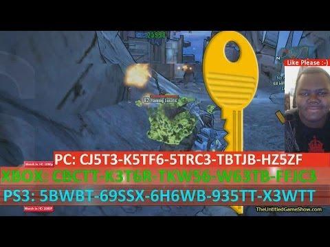 5x Free Golden Key Codes Shift Code Borderlands 2 Mac Pc ... Borderlands 2 Golden Key Shift Codes