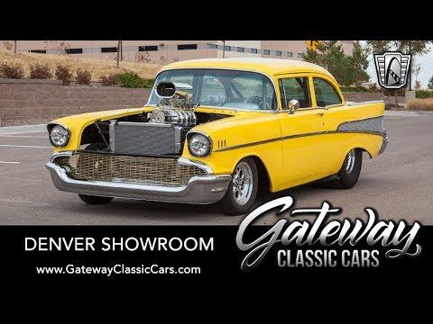 1957 Chevrolet Bel Air, Gateway Classic Cars - Denver #666
