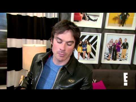 Ian Somerhalder Talks Vampire Diaries Threesome—Say What!—and Reveals Who He's Dating  E! Online