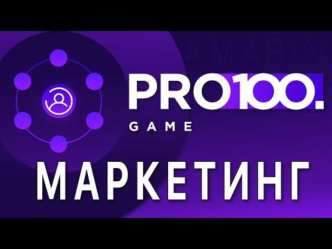 PRO100game Маркетинг Презентация Pro100game