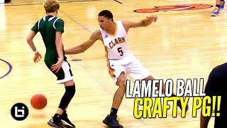LaMelo Ball is CRAFTY With The Basketball!! FUTURE UCLA PG Has BIG Game!