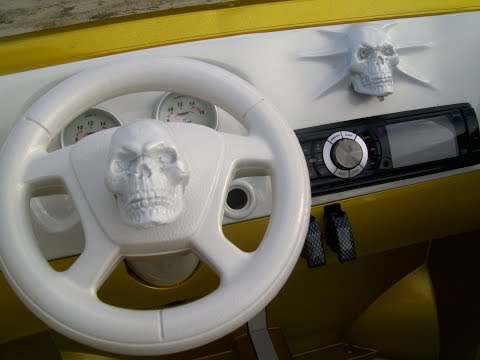 Vulgar Display Of Power Wheels Custom Pagan Escalade part 1