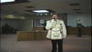 [The George Washington / Lafayette Masonic Apron Presentation...]