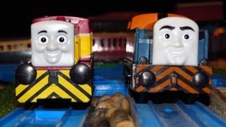 Trackmaster Den And Dart Mega Double Unboxing Review And