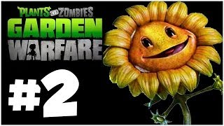 Plants Vs. Zombies Garden Warfare Walkthrough PART 2 Let's
