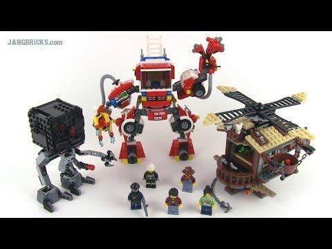 Hình ảnh trong video LEGO Movie set review: Rescue Reinforcements