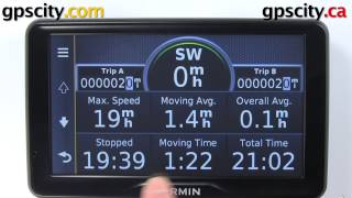 Garmin Nuvi 2797LMT: Trip Computer Overview With GPS City