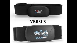 Polar H7 Bluetooth 4.0 LE Heart Rate Strap Versus Wahoo